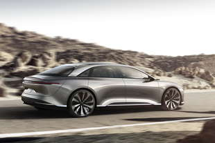 lucid air prezzo 60000 dollari