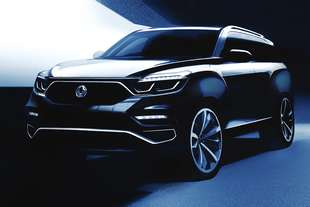 ssangyong y400 rexton 2017