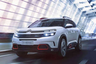 citroen c5 aircross 2017 spy
