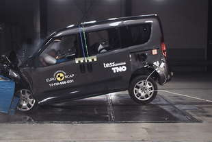 crash test euroncap bmw serie 5 fiat doblo