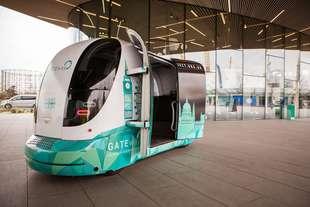 londra test del bus guida autonoma gateway