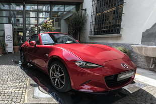 mazda mx 5 rf alla design week 2017