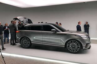 2017 design week range rover velar