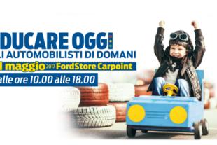 ford roma giornata bambini sulla sicurezza stradale