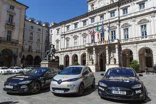 global evrt 2017 torino tour auto elettrica