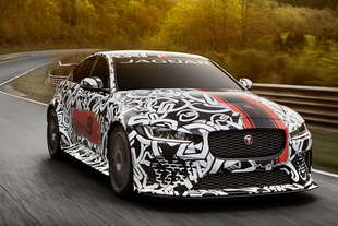 jaguar xe SV Project 8 600 cv
