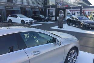 company car drive 2017 mercedes punta sul green