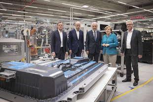 mercedes iniziano lavori nella fabbrica batterie