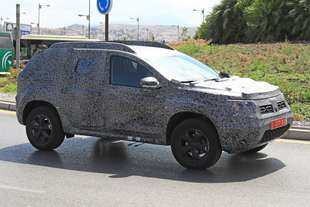 dacia duster 2018 spy