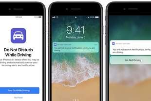 apple iphone DNDWD si blocca alla guida distrazioni