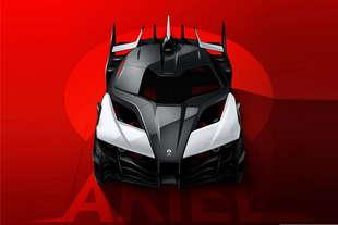 ariel project hipercar elettrica
