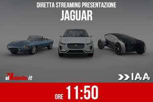 francoforte 2017 presentazione jaguar diretta