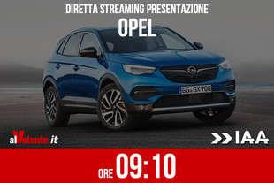 francoforte 2017 presentazione opel diretta