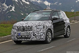 volkswagen t cross 2019 spy