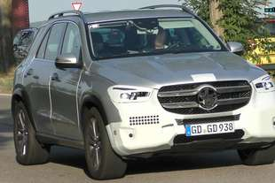 spy mercedes gle 2018