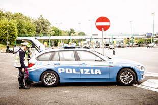 assicurazioni auto controlli tappeto della polizia