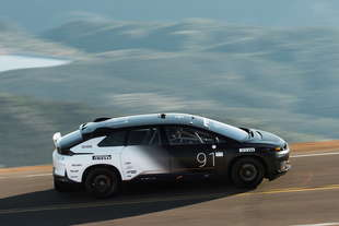 faraday future 91 record pikes peak