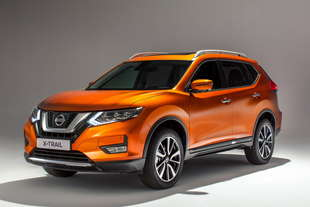 nissan x trail 2017 restyling