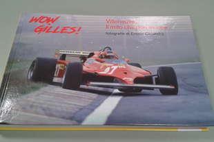 libro Wow Gilles Villeneuve 2017