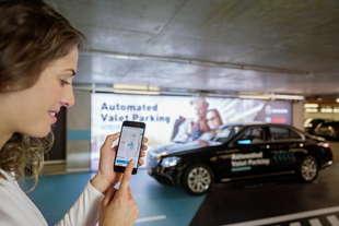 mercedes parcheggio automatico valet parking