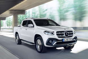 mercedes classe x pick up caratteristiche foto