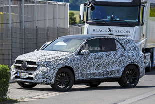 mercedes gle 2018 spy
