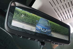nissan rvm specchietto retrovisore digitale