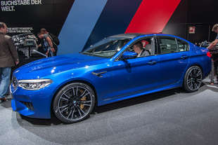 bmw m5 2017 salone francoforte