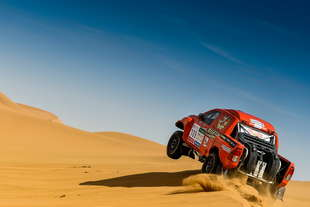 dakar series china rally 2017 7a tappa