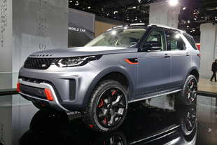 land rover niente discovery svx e range sv coupe