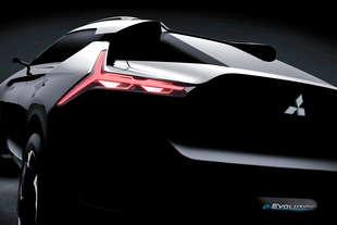 Mitsubishi e Evolution Concept 2017 teaser