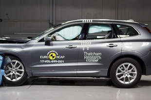 crash test euroncap en plein 5 stelle