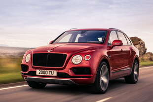 bentley bentayga v8 benzina