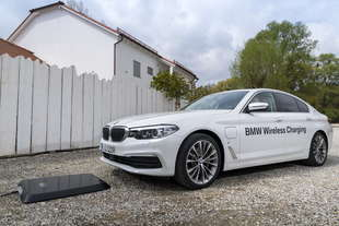 bmw wireless charging ricarica senza fili