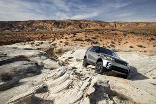 land rover guida autonoma off road