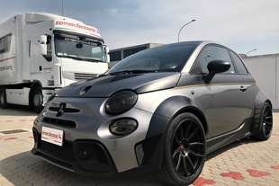 romeo ferraris baronio abarth 500