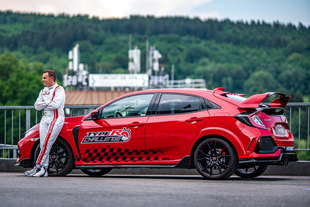honda civic type r record pista spa