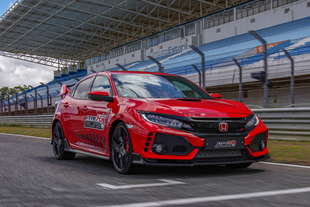 honda civic type r giro record anche estoril