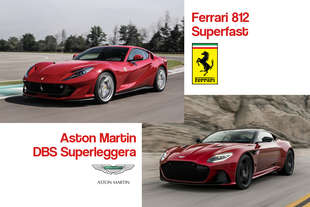 aston martin dbs superleggera vs ferrari 812 superfast qual e tua preferita
