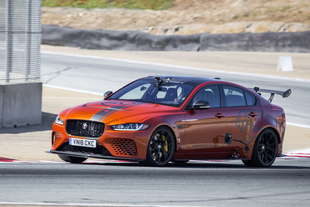jaguar xe sv project 8 record laguna seca