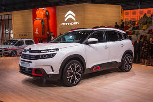 citroen c5 aircross salone parigi 2018