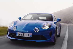 alpine a110 videoprova