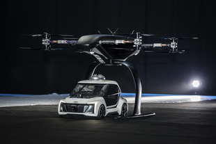 pop up next drone taxi audi test su modellino