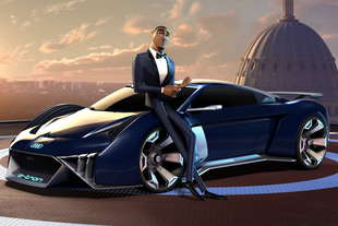 audi film Spies in disguise