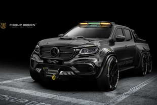 monster x concept un pick up 6x6