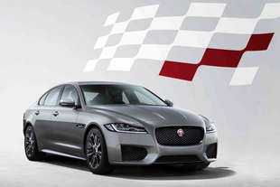 jaguar xf serie speciale chequered flag