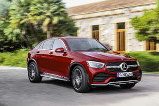mercedes glc coupe 2019 restyling