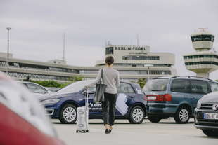 weshare car sharing volkswagen