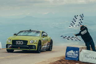 bentley continental gt record pikes peak 2019