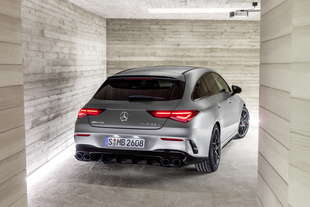 mercedes amg cla 45 shooting brake 2019